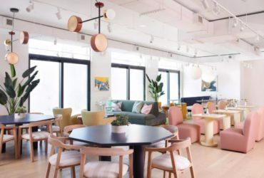 3 ideias de decoração que amamos neste coworking em Nova York